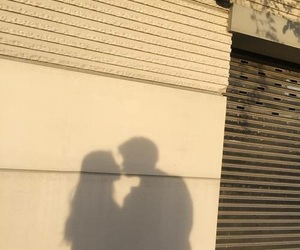 couple, aesthetic, and shadow image