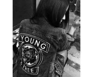 alternative, girl, and jacket image