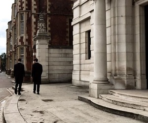 architecture, friend, and london image