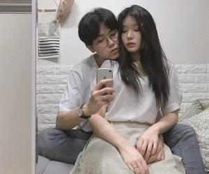couple, girl, and ulzzang image
