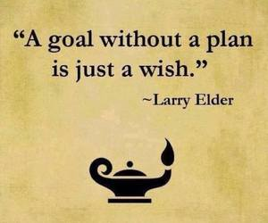 goal, plan, and quote image