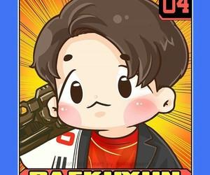 exo, power, and baekhyun image
