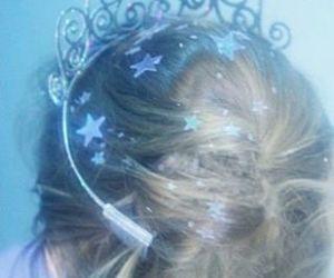 girl, stars, and princess image