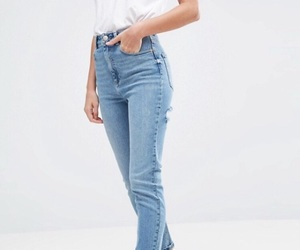 basic, blue jeans, and casual image