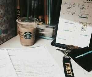 starbucks, study, and university image