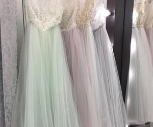 bridal, romantic, and wedding dresses image