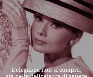 audrey hepburn, elegance, and quotes image