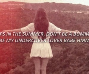 aesthetic, summer, and lana del rey image