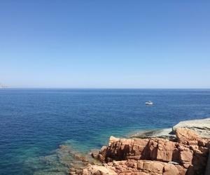 blue, Sardinia, and summer image