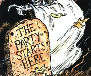 Halloween, ghost, and party image