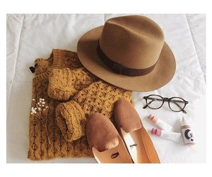 accessories, autumn, and brown image