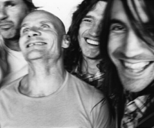 rhcp, anthony kiedis, and chad smith image