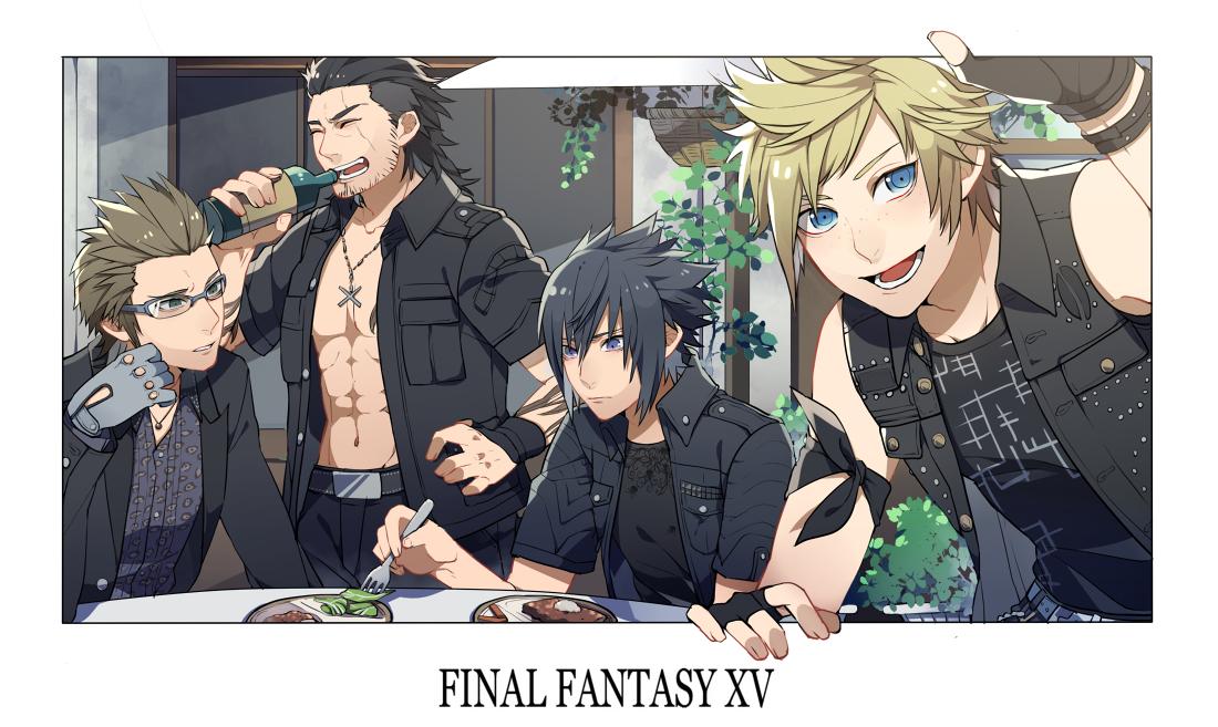 anime boy, noctis lucis caelum, and final fantasy xv image
