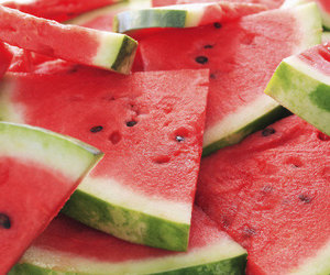 fruit, summer, and watermellon image