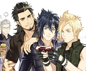 blond, game, and noctis lucis caelum image