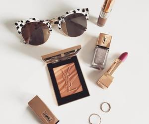 makeup, lipstick, and YSL image