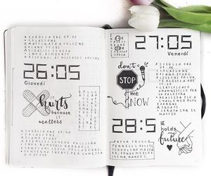 creative, doodles, and planner image