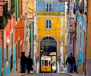 lisbon, city, and portugal image