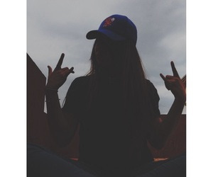 dark, girl, and weheartit image