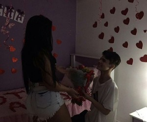 casal, couple, and goals image