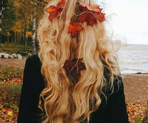 autumn, fall, and fallenleaves image