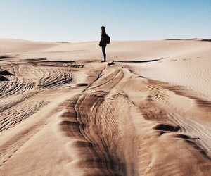 desert, travel, and tumblr image
