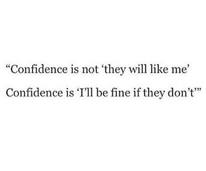 confidence, love, and feelings image