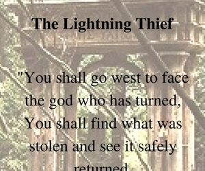 percy jackson, pjo, and the lightning thief image