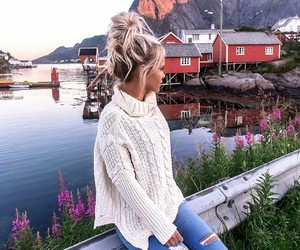 casual, girl, and places image