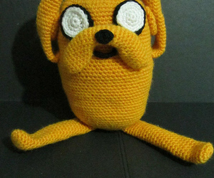 amigurumi, dog, and adventure time image