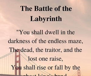 labyrinth, percy jackson, and the battle image
