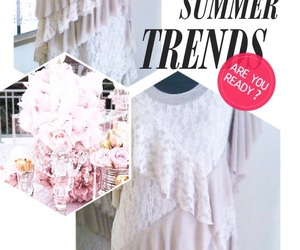 lacedress, summerdresses, and ontrend image