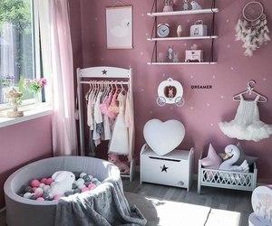 ballerina, children's room, and decorations image