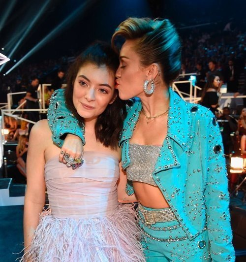miley cyrus and ️lorde image