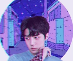 aesthetic, exo, and purple image