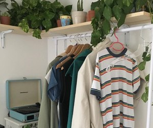 clothes, plants, and room image