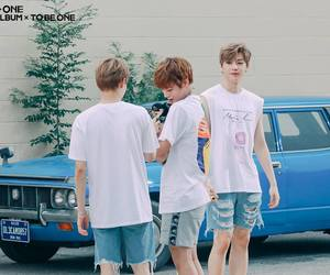 behind the scene, boy group, and wanna one image