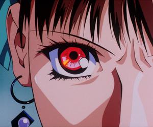 anime girl, retro anime, and cap image