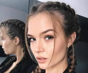 josephine skriver, model, and hair image