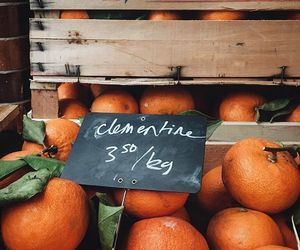 clementine, fruit, and orange image