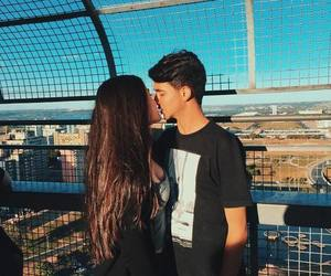 goals, boy, and couple image