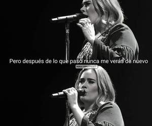 Adele, frases, and sadness image