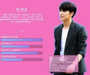 dino, jeonghan, and 우지 image
