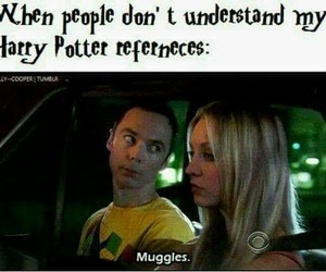 harry potter, funny, and sheldon image