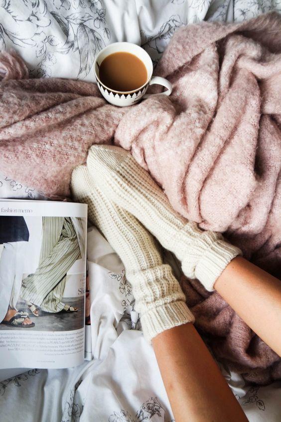 cozy, socks, and winter image