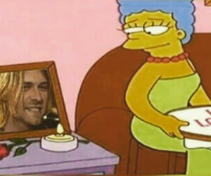 grunge and the simpsons image