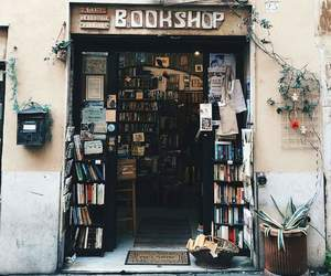 architecture, books, and bookshop image