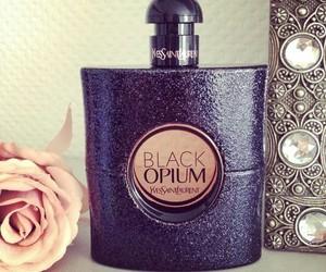 YSL, black opium, and rose image