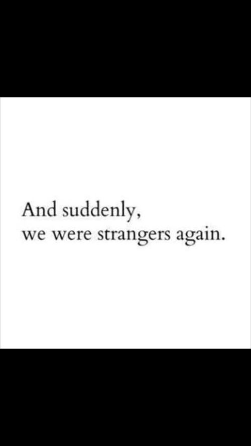 quotes, strangers, and sad image