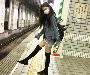 kfashion, girl, and korean image